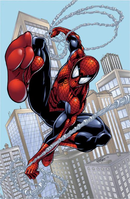 GAMING ROCKS ON: Anime/Cartoon/Comic Art #3: Spider-Man ...
