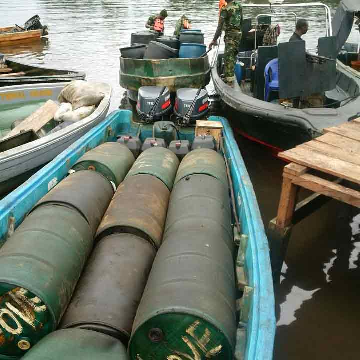 Crocodile Smile: Army clears oil bunkering, kidnappers' hideouts in Rivers State