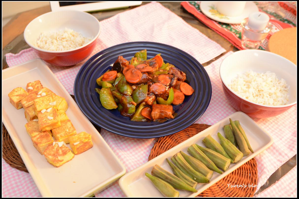 魚人雜記。Travel.Cook and Life: 【食譜】烤箱料理~非油炸 糖醋排骨。低油少煙 以烤代炸