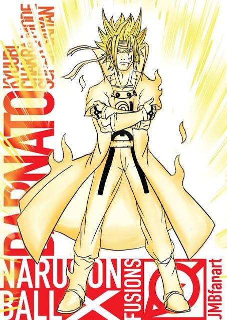 6- Barnato (Super Saiyan Kyubi Chakra Mode)