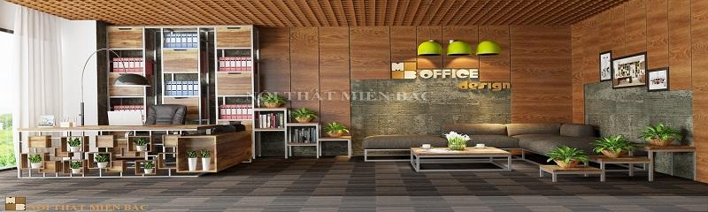 Thiết kế văn phòng hiện đại cho phòng làm việc giám đốc
