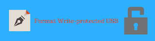 format write-protected flash drive