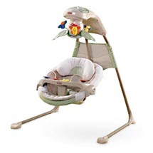 mom mart product review fisher price baby papasan cradle swing in nature 39 s touch. Black Bedroom Furniture Sets. Home Design Ideas
