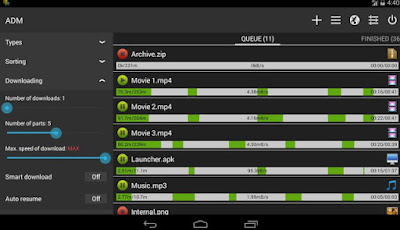 Advanced Download Manager Pro 5.0.4 Apk-screenshot-2