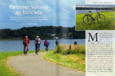 Recorrer Valonia en bici