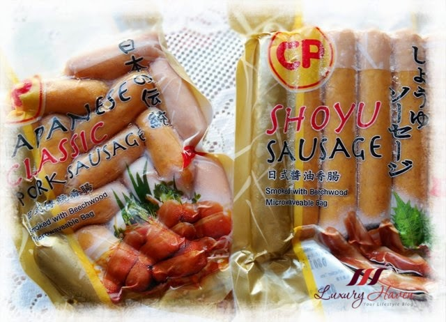 cp japanese pork shoyu sausages reviews