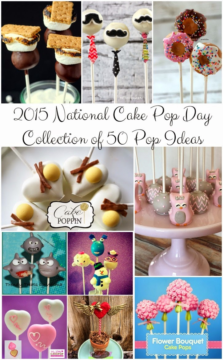 A Collection of 50 Cake Pop Ideas that are sure to get you inspired!