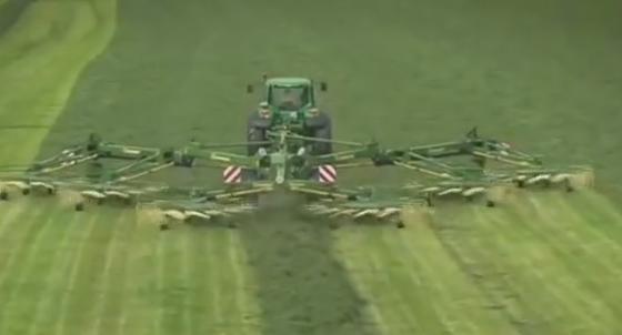 New mega tractor,