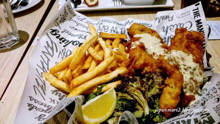 makan kat Fish Manhattan, Sunway Putra Mall