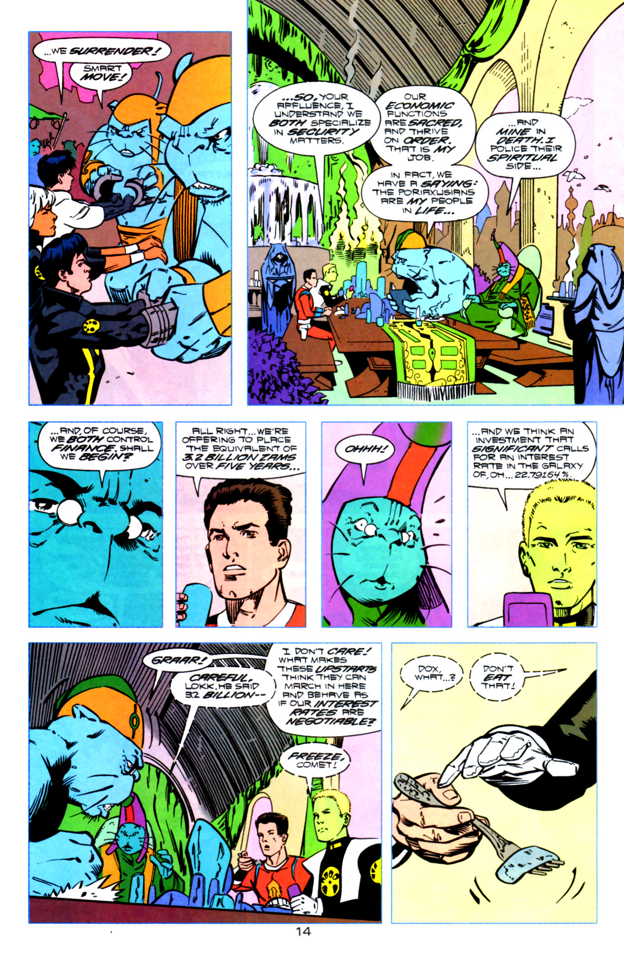 Legion of Super-Heroes (1989) 119 Page 13