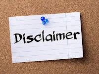 Cara Buat Disclaimer untuk Blog