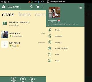 BBM Mod Tema WP Green Lemon v2.13.1.14 Apk Terbaru