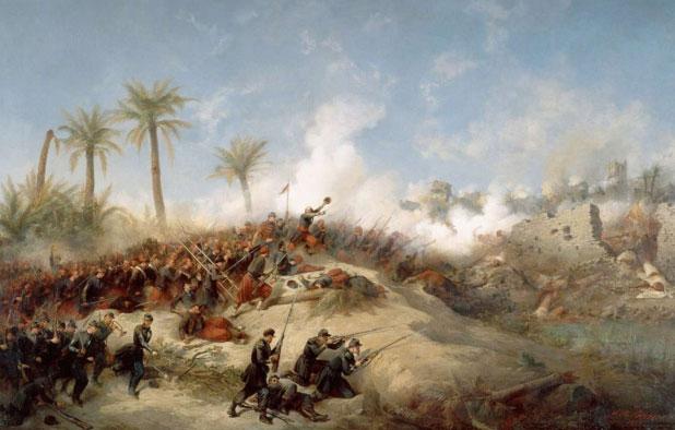 مقاومة الزعاطشة للإحتلال الفرنسي