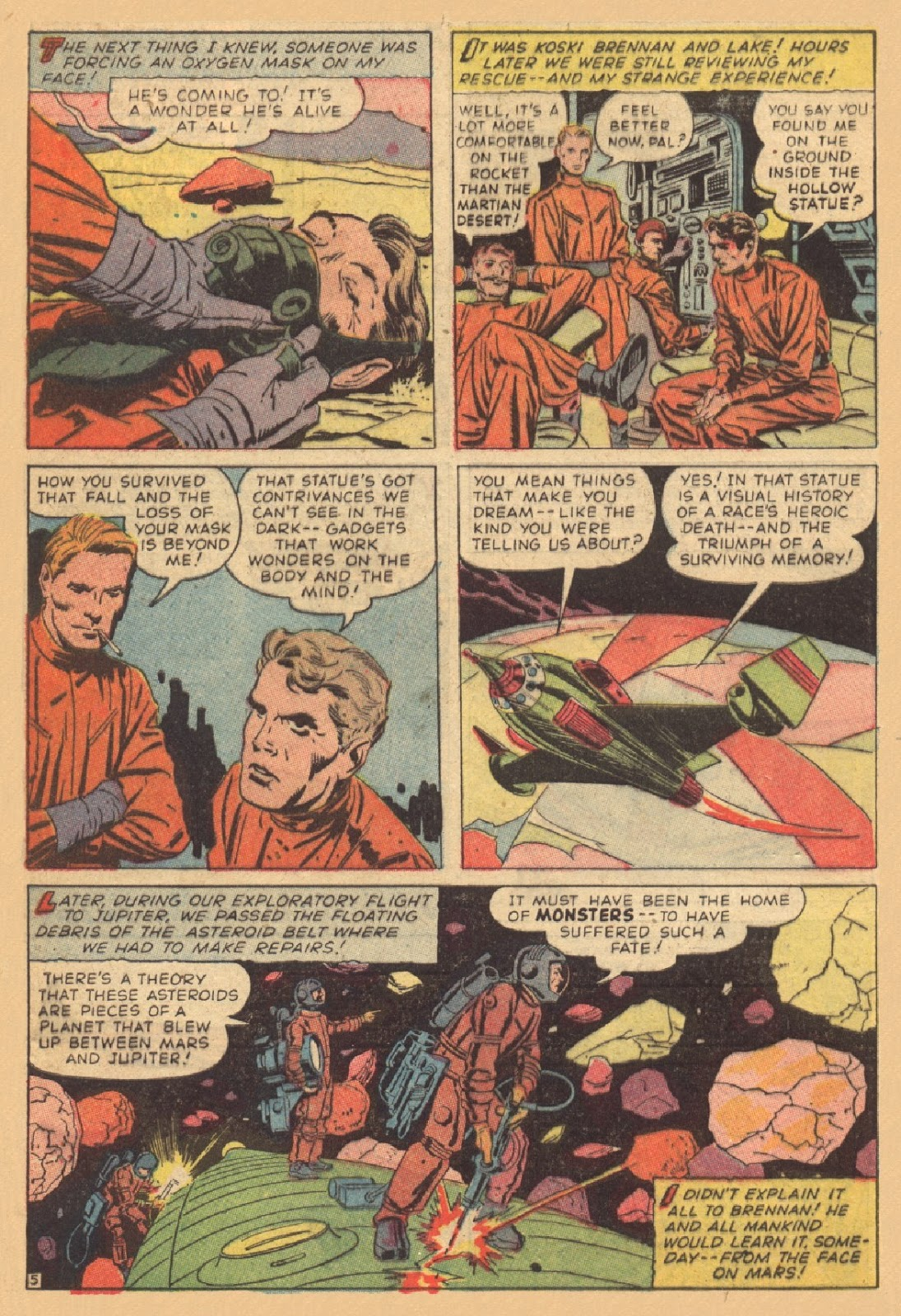 alien explorations  jack kirby and the face on mars