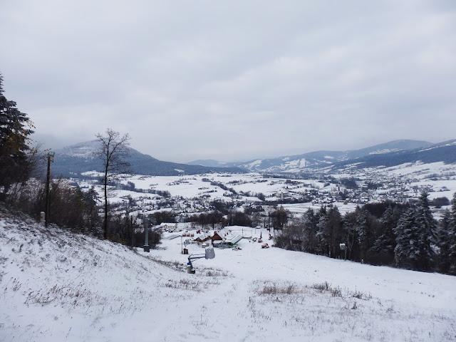 Widok na okolice Kasiny.