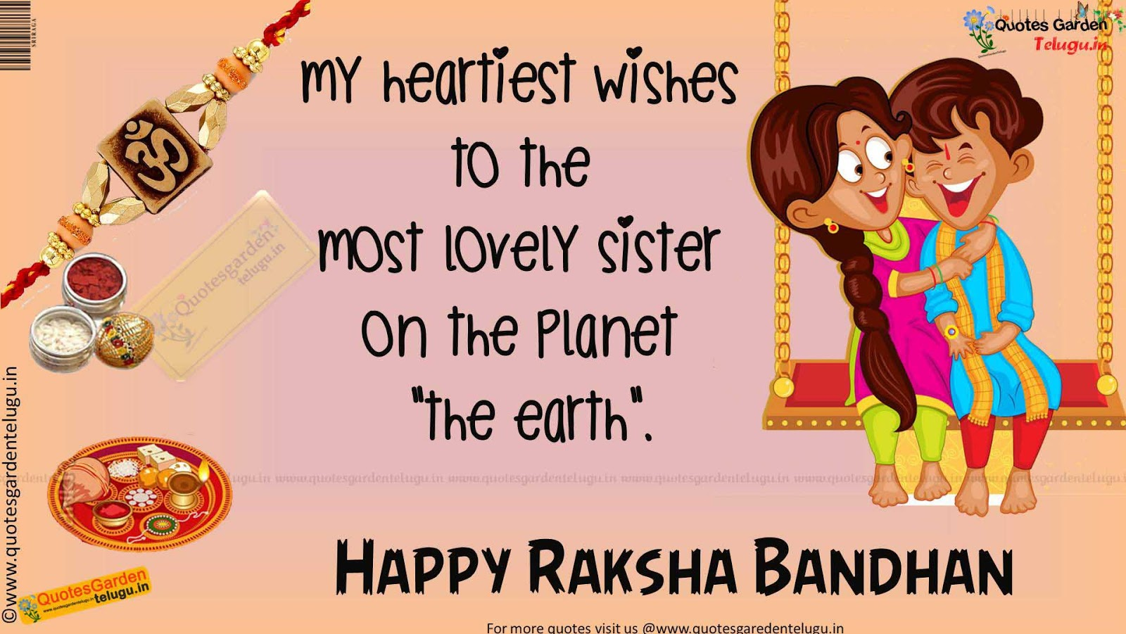 Best Rakshabandhan quotes for brothers 899 | QUOTES GARDEN ...