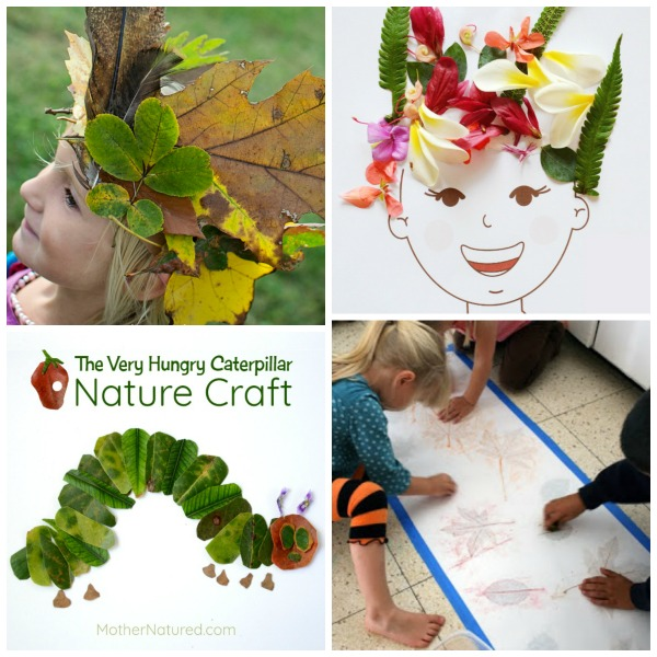 50 AMAZING LEAF CRAFTS FOR KIDS
