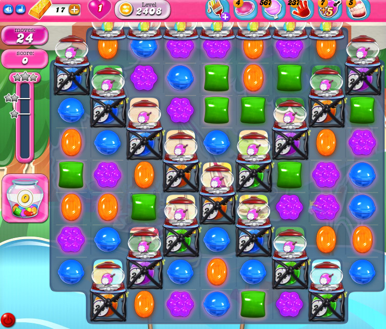Candy Crush Saga level 2408