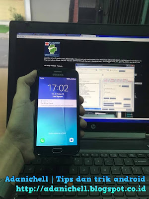 Cara Flashing Samsung Galaxy S6 SC-05G