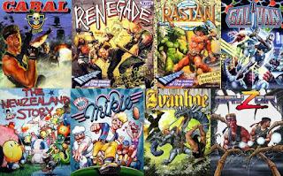 Portadas de videojuegos Bob Wakelin