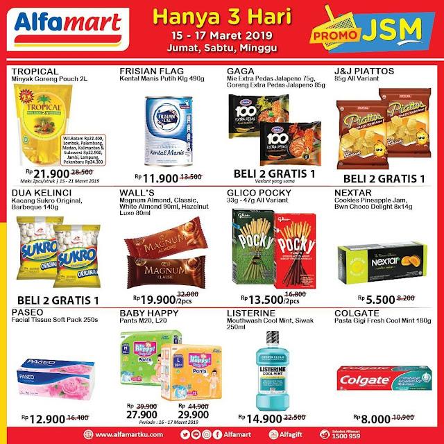#Alfamart - #Promo #Katalog JSM Periode 15 - 17 Maret 2019