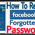 I forgot My Password for Facebook