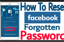 Facebook forgoten Password 2019