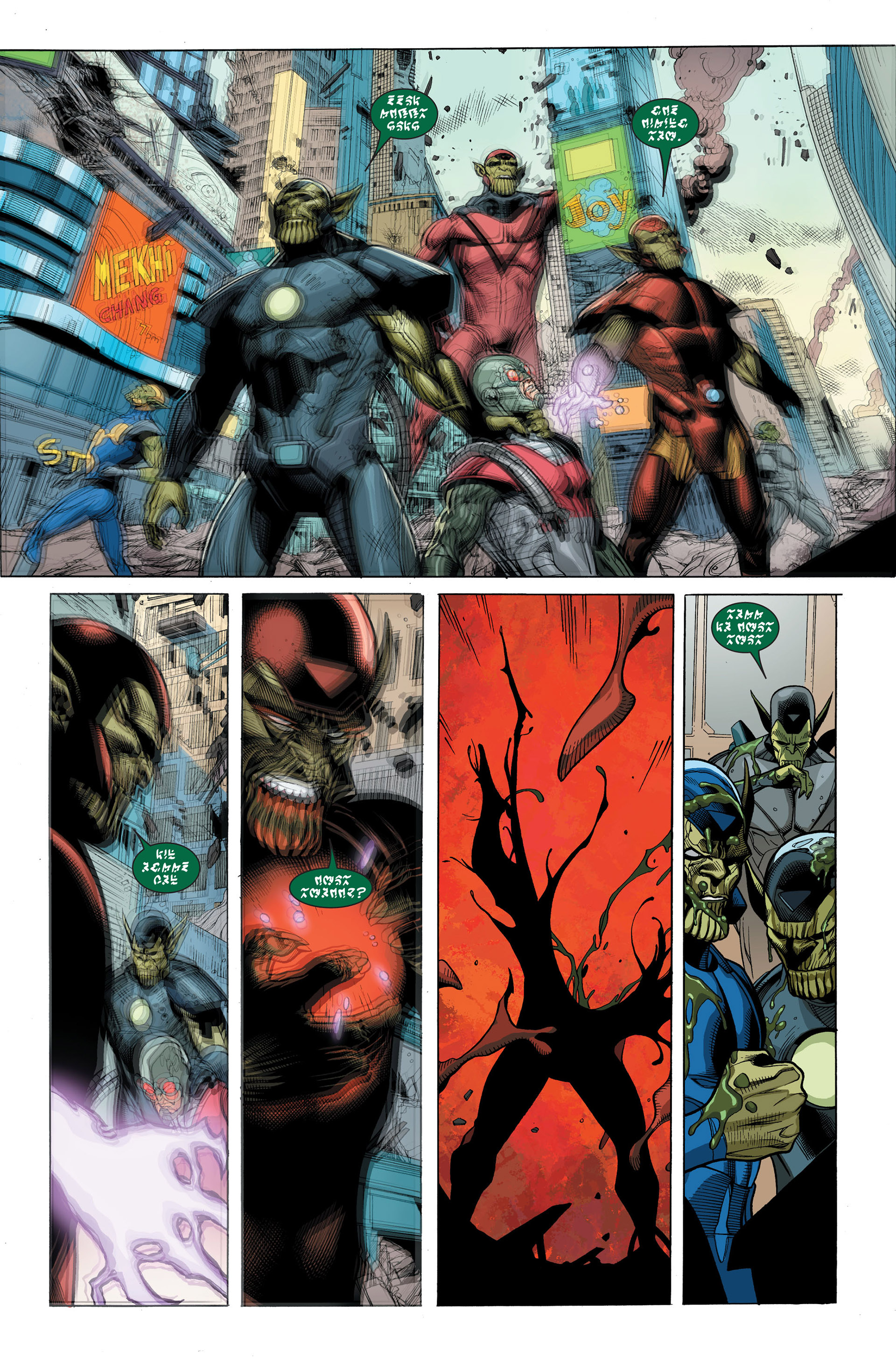 Read online Secret Invasion comic -  Issue #3 - 19