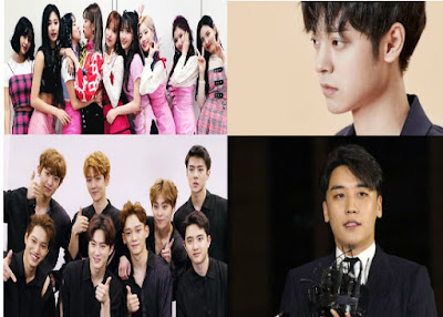Agencies of EXO and TWICE Will Take Strong Legal Action for Links to Seungri and Jung Joon Young Sex Video Scandal