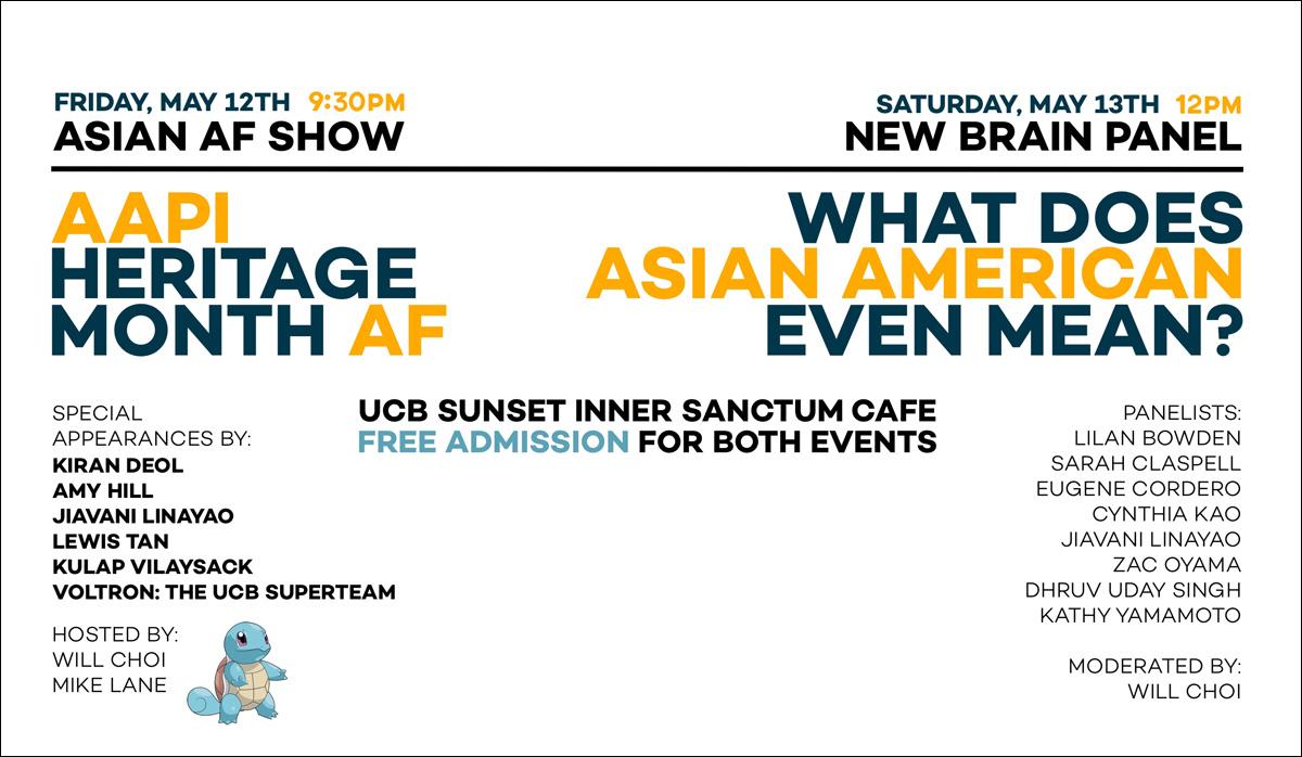 Asian AF Presents: AAPI Heritage Month AF