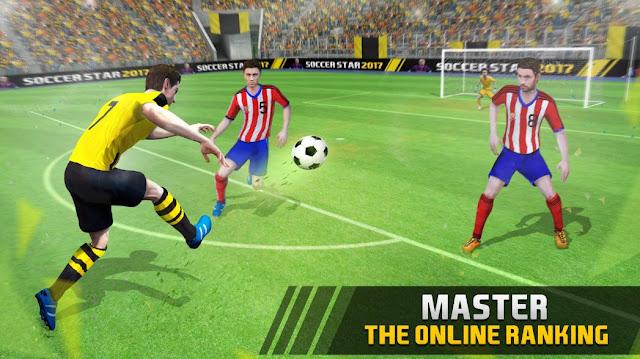 Soccer Star 2017 [Mod] Apk Unlimited Gems Terbaru
