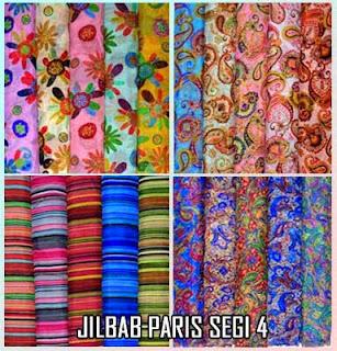 Tempat berbelanja grosir jilbab paris online termurah