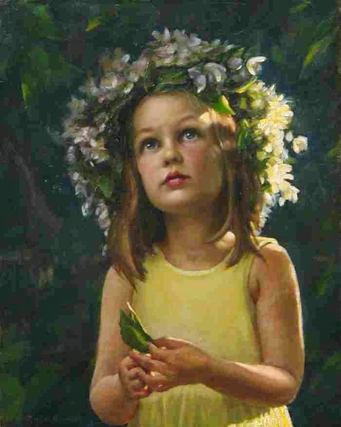Норвежская художница. Elisabeth Gyllensten