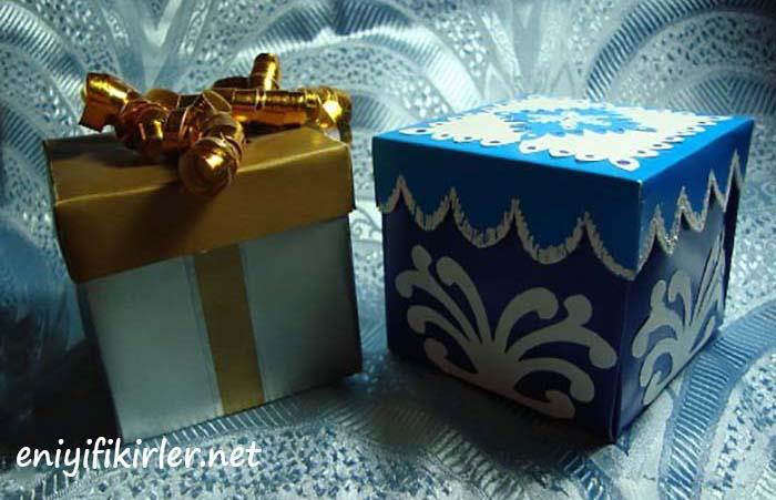 hediye kutusu süsleme