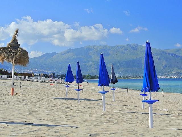 Sycylia, piaszczyste plaże, okolice Palermo