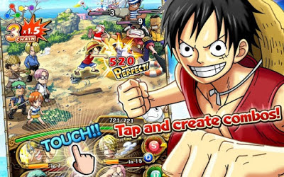 Download ONE PIECE TREASURE CRUISE Mod Apk Ltest Version