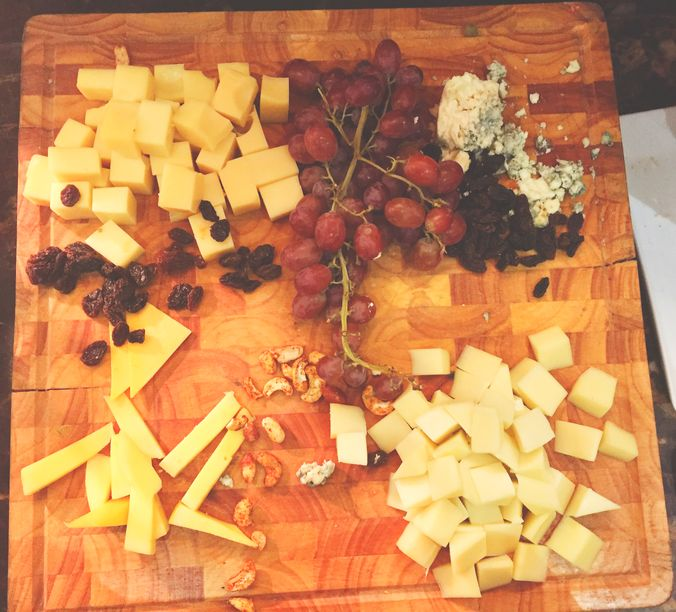 Cheeseboard at F All-Day Dining in F1 Hotel