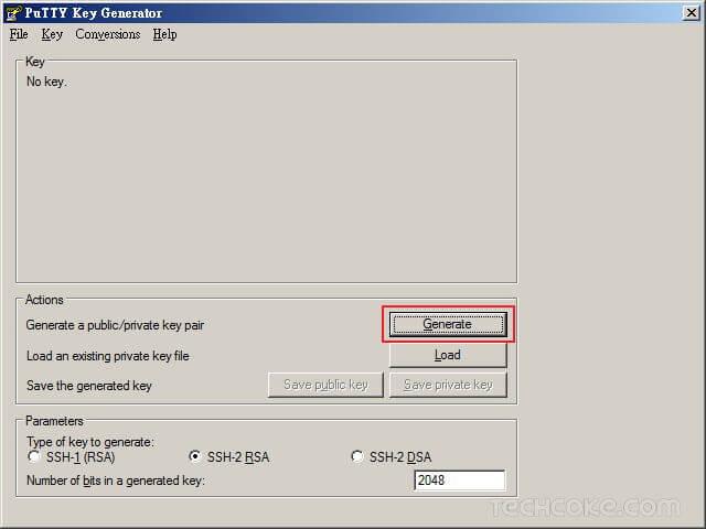[教學] 使用 PuTTYgen 產生 SSH 連線 RSA、DSA 公鑰與私鑰_201