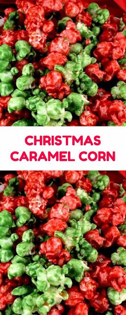 CHRISTMAS CARAMEL CORN