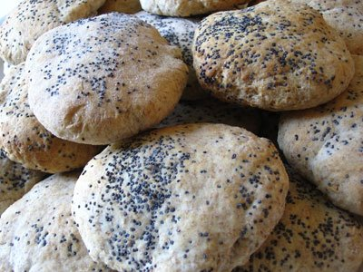 Indian-Style Poppy Seed Wafers
