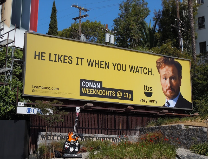 Conan Likes when you watch billboard