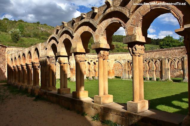 Arcos claustro S. Juan de Duero, Soria