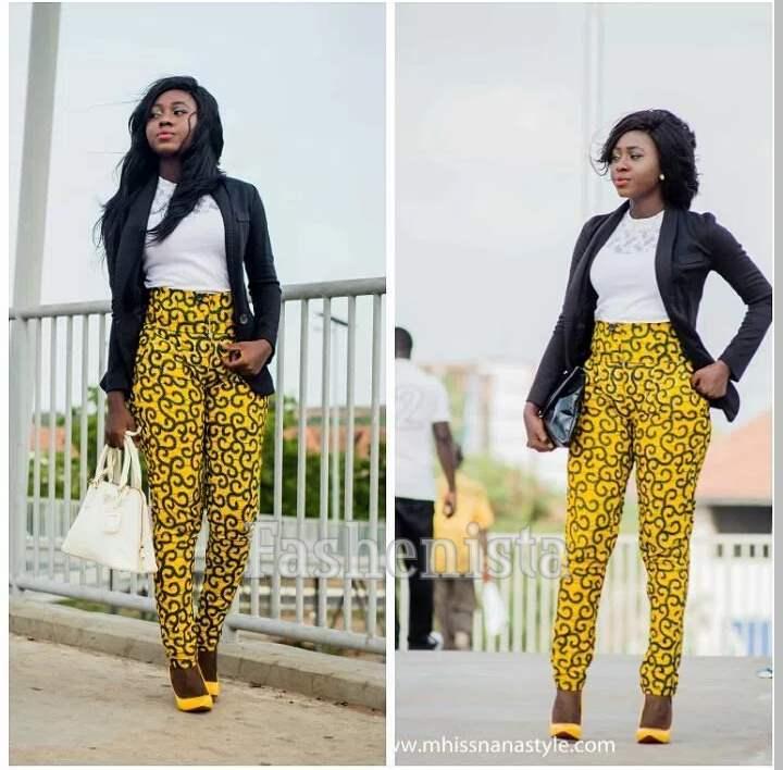 Amazingly Beautiful Kitenge Trousers Fashenista