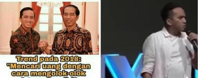 AGEN  BOLA - Standp  Up Comendy Ge Pamungkas Hijutat Warganet