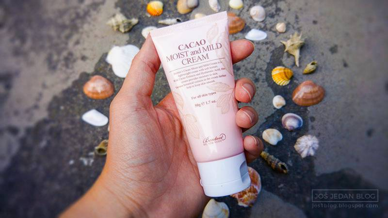 Benton Cacao Moist and Mild Cream review ingredients swatch