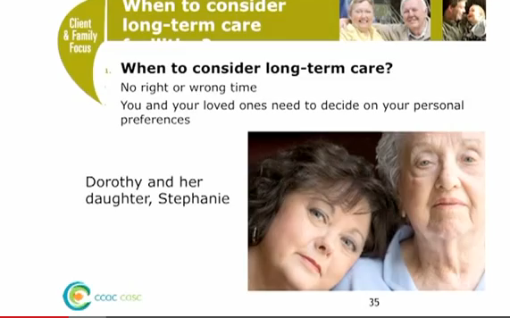 Ontario Healthcare - for those over 50: How to apply for long-term