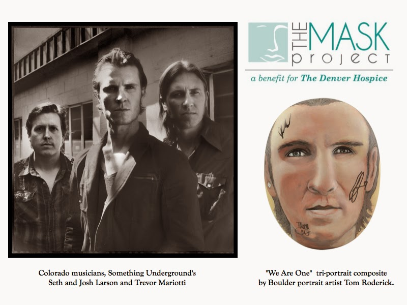 The Mask Project SUG by Boulder portrait artist Tom Roderick