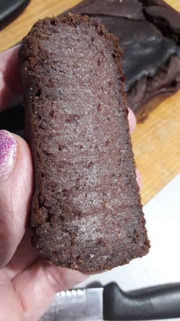 Brownie z fasoli - bez glutenu, bez cukru, bez mleka