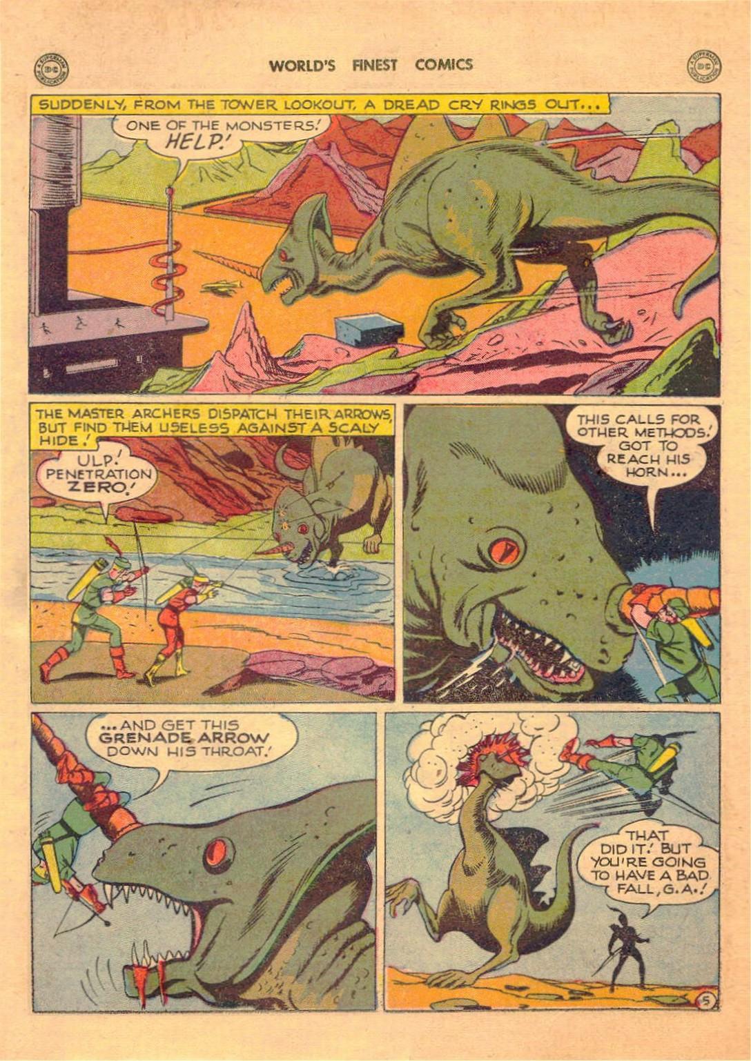 Read online World's Finest Comics comic -  Issue #42 - 21