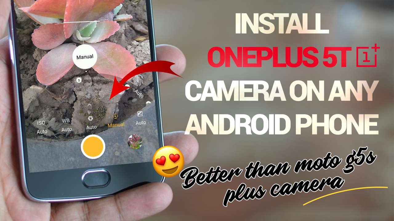 Download Latest OnePlus 5T Camera App Apk For All Android Device- No